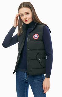 Черный жилет с пуховым наполнителем Freestyle Vest Canada Goose