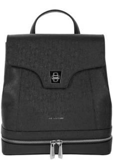 Кожаный рюкзак из сафьяновой кожи с откидным клапаном Cromia