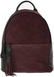 Замшевый рюкзак с тонкими лямками Gianni Conti
