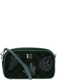 Маленькая бархатная сумка через плечо Ermanno Ermanno Scervino