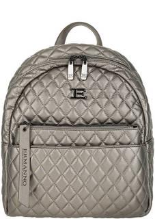 Городской стеганый рюкзак с дополнительным клатчем Ermanno Ermanno Scervino