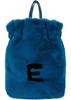 Вместительный синий рюкзак с одним отделом Ermanno Ermanno Scervino