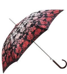 Зонт-трость с цветочным принтом с куполом из сатина Doppler