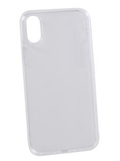 Аксессуар Чехол Media Gadget Essential Clear Cover для iPhone Xs Transperent ECCIPXSTR