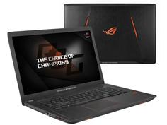 Ноутбук ASUS ROG GL753VD-GC526 Black 90NB0DM2-M09270 (Intel Core i5-7300HQ 2.5 GHz/12288Mb/1000Gb+256Gb SSD/nVidia GeForce GTX 1050 2048Mb/Wi-Fi/Cam/17.3/1920x1080/Endless OS)