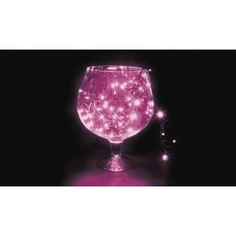 Гирлянда neon-night твинкл 10м, черный пвх, 100 led фиолетовые 303-154