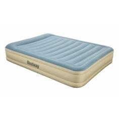 Надувная кровать со встроенным электронасосом bestway essence fortech 203х152х36см 69007 bw