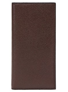 Бумажник из фактурной опойковой кожи Valextra
