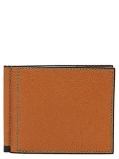 Компактный бумажник из кожи Valextra