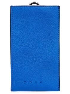 Чехол для смартфона из фактурной кожи Marni