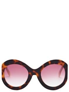 Солнцезащитные очки в оправе с принтом ZAN ZAN