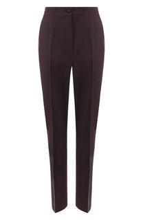Шерстяные брюки со стрелками Dolce & Gabbana