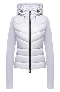 Утепленная куртка с капюшоном Moncler