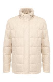 Пуховая куртка Piumo Cortina на молнии с воротником-стойкой Loro Piana