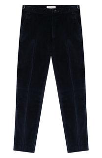 Бархатные брюки прямого кроя Stella McCartney