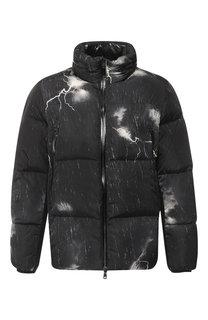 Пуховая куртка Fabas на молнии с воротником-стойкой Moncler
