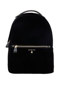 Черный бархатный рюкзак Nylon Kelsey Michael Kors