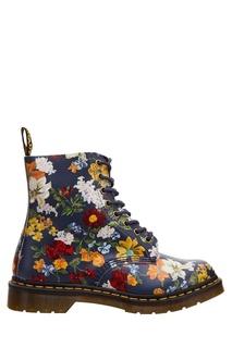 Ботинки с цветочным принтом 1460 Pascal Darcy Dr Martens