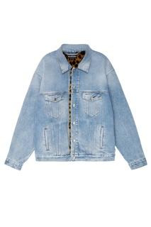 Джинсовая куртка с контрастной подкладкой Balenciaga Man