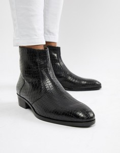 Мужские ботинки на каблуке
