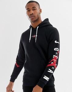 Худи черного цвета с логотипом Nike Jordan AT4911-010 - Черный