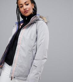 Серая горнолыжная куртка Roxy Solid - Серый