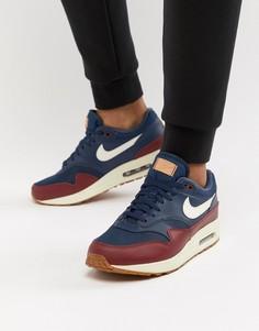 Синие кроссовки Nike Air Max 1 AH8145-400 - Синий