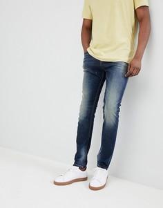 Рваные джинсы скинни United Colors of Benetton - Синий