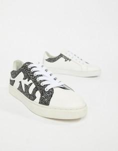 Кроссовки с блестками Sofie Schnoor - Белый