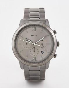 Наручные часы с хронографом Fossil FS5492 Neutra — 44 мм - Серый