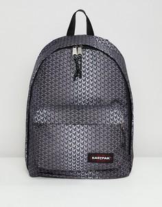 Рюкзак с геометрическим принтом Eastpak Out Of Office - 27 л - Черный