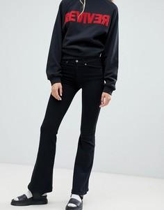 Расклешенные джинсы Dr Denim Macy - Черный