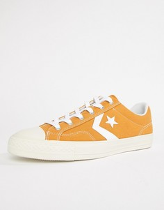 Желтые кеды Converse Star Player Ox 161568C - Желтый