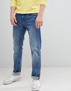 Светлые джинсы прямого кроя Esprit - Синий