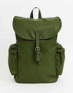 Зеленый прорезиненный рюкзак вместимостью 18 л Eastpak Austin - Зеленый