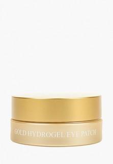 Патчи для глаз Petitfee с 24-каратным коллоидным золотом, 1,4гр*60