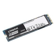 SSD накопитель KINGSTON A1000 SA1000M8/480G 480Гб, M.2 2280, PCI-E x2, NVMe