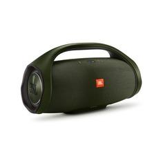 Портативная колонка JBL Boombox, 40Вт, зеленый [jblboomboxgrneu]