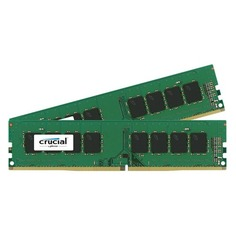 Модуль памяти CRUCIAL CT2K8G4DFS824A DDR4 - 2x 8Гб 2400, DIMM, Ret