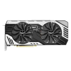 Видеокарта PALIT nVidia GeForce RTX 2070 , PA-RTX2070 JETSTREAM 8G, 8Гб, GDDR6, Ret [ne62070020p2-1061j]