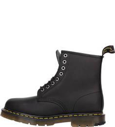 Высокие черные ботинки из гладкой кожи 1460 Dr Martens