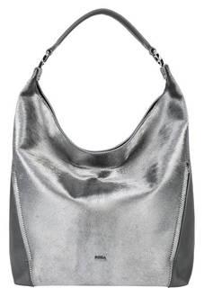Кожаная сумка с меховой вставкой Lady Furla