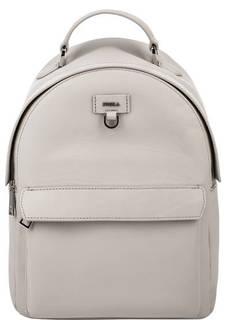 Серый кожаный рюкзак Favola Furla