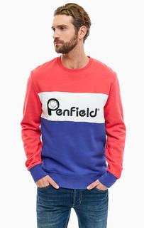 Хлопковый свитшот с вышивкой Penfield