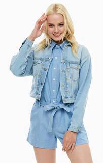 Короткая джинсовая куртка с двумя карманами Pepe Jeans