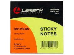 Стикеры Lamark 76x76mm Neon Green SN1116-GN