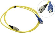 Сетевой кабель VCOM Optical Patch Cord FC-SC UPC Simplex 1m VSU102-1M