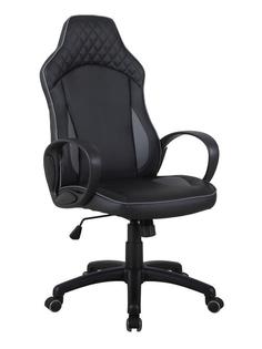 Компьютерное кресло TetChair Speedy искусственная кожа Black-Grey 12 366