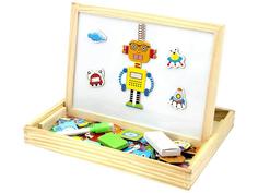 База игрушек Двухсторонняя магнитная доска Роботы BAZA-2015-2