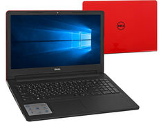 Ноутбук Dell Inspiron 3567 3567-6144 Red (Intel Core i3-7020U 2.3 GHz/4096Mb/500Gb/DVD-RW/Intel HD Graphics/Wi-Fi/Cam/15.6/1366x768/Windows 10 64-bit)